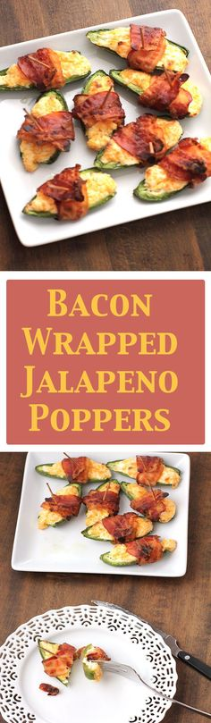 A cheesy, cream cheese filled jalapeño, wrapped in bacon. EASY to make and so delicious!
