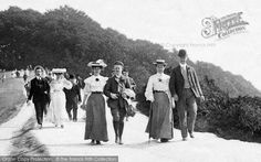 Box Hill, On Bank Holiday 1906, from Francis Frith