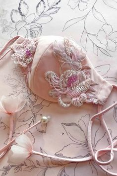 KIT DIY pin different masks and support engraved with silver metal flowers