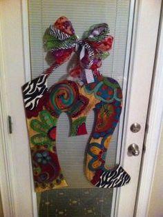 Initial Door Hanger.  Kelsea Smith- FB Page