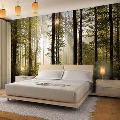 Vlies Fototapete 'Wald' 352x250 cm - 9010011a RUNA Tapete: Amazon.de: Küche & Haushalt