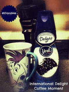 International Delight and coffee quells the chaos!  Thanks @Kasandria Reasoner for sharing your ID moment! #IDandMe