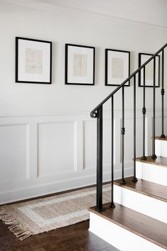 Chip & Joanna Gaines' Mountain Home Chip & Joanna . - Chip & Joanna Gaines' Mountain Home Chip & Joanna Gaines' Mountai - Hallway Designs, Chip And Joanna Gaines, Joanna Gaines Style, Joanna Gaines Home, Stairways, Home Decor Inspiration, Home Remodeling, Home Renovations, Kitchen Remodeling