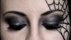 Make up – Halloween – Spinnennetz - Halloween Make-up Costume Makeup, Party Makeup, Eye Makeup, Halloween 2018, Halloween Makeup Witch, Spider Witch Makeup, Kids Witch Makeup, Spider Web Makeup, Halloween Costumes