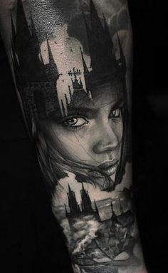 Interview with Thomas Carli Jarlier Girl Face Tattoo, Face Tattoos, Dog Tattoos, Body Art Tattoos, Portrait Tattoos, Portrait Tattoo Sleeve, Tattoo Ink, Great Tattoos, Trendy Tattoos