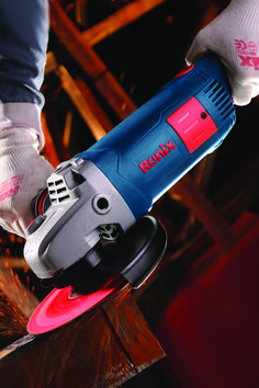 2400 W Powerful motor Fast, easy carcon brush change Anti-dust switch with locking button Angle Grinder, Power Tools, Hand Tools, Tech, Change, Button, Easy, Electrical Tools, Technology