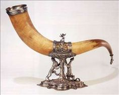 Drinking Horn of the Calivermen's Civic Guard of Amsterdam    Author     : ARENT COSTERDate       :1547