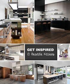 Inspiration : 10 Stunning Kitchens - http://www.decoradvisor.net/materials/inspiration-10-stunning-kitchens/