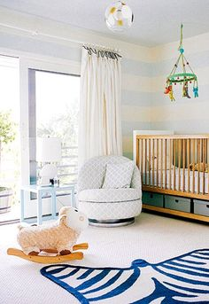 nursery - love all the white