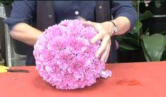 Wedding DIY Flower ball!