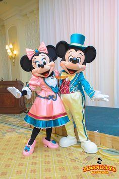 ランホコスのミッキー&ミニーのペアグリも!東京ディズニーランドホテルでグリーティング   TOONDAYS【トゥーンデイズ】 ディズニーブログ                                                                                                                                                                                 もっと見る