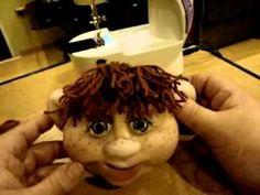 МК Лаврентьевой Е. по созданию каркасной куклы часть 6