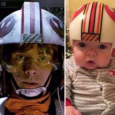 Jedi Dad Paints Son's Corrective Helmets With 'Star Wars' Art