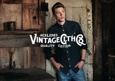Jack & Jones Vintage Clothes, quality cotton