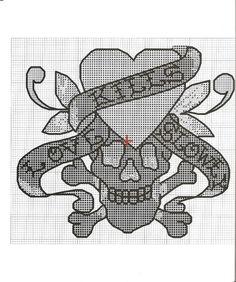Ed Hardy Cross-Stitch Patterns 10.2