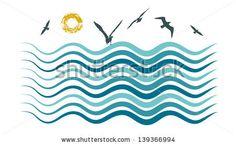 Sea Waves Abstract Background Stock Photos, Sea Waves Abstract Background Stock Photography, Sea Waves Abstract Background Stock Images : Shutterstock.com