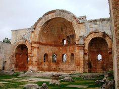 St. Simeon Basilica, Aleppo, Syria