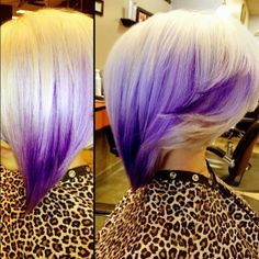 Awesome Lavender ombre
