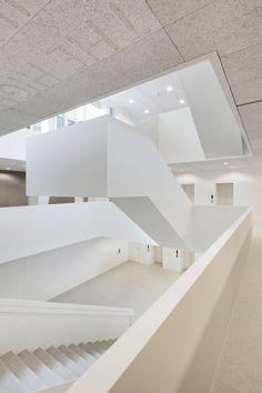 wiel arets AvB tower is a hyper-hybrid hub in the hague - designboom   architecture & design magazine