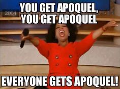 Everyone loves the Apoquel