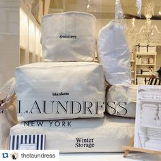 #Repost @thelaundress  Join us Wednesday March 16 from 6:30-8:00 PM for an evening with Done & Done Home at our SoHo store. Learn organizing and decluttering tips from Manhattans efficiency experts Kate Pawlowski and Ann Lightfoot. All who attend will receive 20% off their in-store purchase. Details at @thelaundressnysoho.  #TheLaundressStore #TheLaundress #NewYork #DoneandDone #SpringCleaning #GetOrganized #SoHo #Home