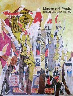 Raymond Hains, Museo del prado, décollage su cartone, 66 x 89 cm Raymond Hains, Gcse 2015, Brian Dettmer, Nouveau Realisme, Mark Bradford, Romare Bearden, Wall Posters, Gcse Art, Prado