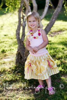 BELLE Inspired Skirt by Little Wellies -- Available in sizes 12m 2 3 4 5 6 children clothing. $58.00, via Etsy.