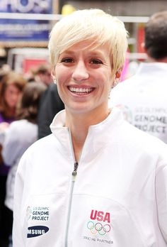 Megan Rapinoe, midfielder, has scored three goals for the U.S. women's soccer team. Many athletes who come out say it has been a positive experience - and even performance-enhancing. Rapinoe scored two goals in the U.S. team's semifinal win over Canada. ''I guess it seems like a weight off my shoulders,'' she said on the eve of Thursday's gold medal match against Japan. ''I've been playing a lot better than I've ever played before. I think I'm just enjoying myself and I'm happy.''