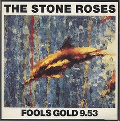 "For Sale - Stone Roses Fools Gold - 2nd Issue UK 12"" vinyl single (12 inch record / Maxi-single) - See this and 250,000 other rare & vintage vinyl records, singles, LPs & CDs at http://eil.com"