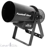Chauvet Funfetti Shot High Powered Professional DMX Confetti Cannon - Bubble, Foam & Snow Machines - Atmospherics & Effects - Lighting & Effects | Gear4DJs