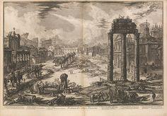 Giovanni Battista Piranesi | View of the Flavian Amphitheater, called the Colosseum, from Vedute di Roma (Roman Views), part II | The Met