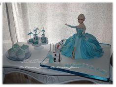 Bolo Princesa do Gelo, Cupcakes e cakepops