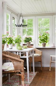 Interior,Marvelous Small Sunroom Designs Home Design And Interior With Wood Flooring And Indoor Plant Inspirations,Amazing Sunroom Interior Design Sunroom Decorating, Interior Decorating, Interior Design, Sunroom Ideas, Decorating Ideas, Sunroom Furniture, Outdoor Furniture Sets, Wicker Furniture, Adirondack Furniture