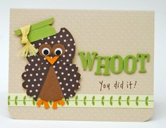 graduation crafts | ... Crafts blog and here is the graduation card I put together for my