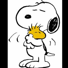 Snoopy..my first stuffed animal, first friend, --totally better than Elmo! hee hee