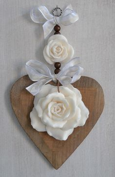 Love Valentines, Valentine Crafts, Christmas Crafts, Christmas Ornaments, Wood Crafts, Diy And Crafts, Arts And Crafts, Paper Crafts, Heart Crafts