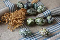 Easter eggs-margutis (master Lina Valutkeviciene, Lithuania)
