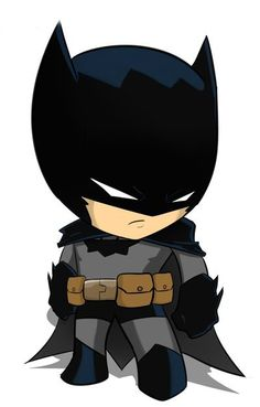 "Batman ""chibi"" by on deviantART. Now the Bat is both cute and scary! Chibi Batman, Im Batman, Batman Art, Baby Batman, Batman Drawing, Spiderman Chibi, Deadpool Chibi, Chibi Marvel, Batman Poster"