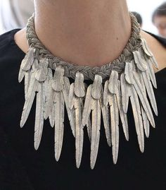 // Feather Necklace