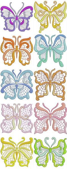 JACOBEAN FLOWERS MACHINE EMBROIDERY DESIGNS - EMBROIDERY DESIGNS