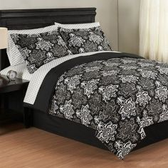 Odessa Bed in a Bag Comforter Sets, this is the bedspread I like for the redecorating. $29.99 at Anna's Linens | for the home | teenage room