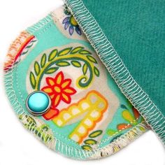 Over Night Moonpads Organic Cloth Pads - I love using cloth pads for night (or when you're staying in.) No diaper feeling!
