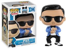Visit http://www.abctoy4me.com/product_info.php/funko-pop-rocks-gangnam-style-psy-vinyl-figure-p-19766        Gangnam Style is invading the POP! Rocks Vinyl Figure line by Funko.  PSY can now be yours in miniature form, and he looks absolutely fresh in his baby blue tuxedo jacket with black trim, black and white dancing shoes, and his iconic shades.  Ey, sexy lady (or sexy gentleman, for that matter) order your personal PSY today and get ready for some ridiculous fun.