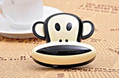 Power Bank : Monkey external Battery for all type Smart Phone – Dasso Monkey, Smartphone, Type, Jumpsuit, Monkeys, At Sign
