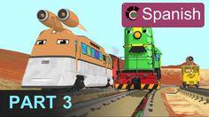 Aprende los números en la fábrica de trenes - Parte 3