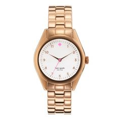 I need this lovely Kate Spade Seaport watch, esp. after someone absconded with my RZ Rosetone watch during #SBWFF last year (and yes I'm totally blasting myself for leaving it in my luggage and then whoever rifled through it while I was at the festival!).