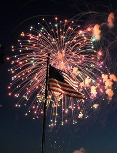 Spokane offers a firework display on the 4th. They are fun and safe - remember, don't try to set off your own!