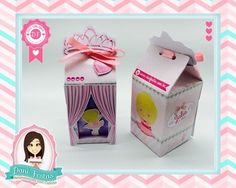 Caixa Milk Personalizada - Bailarina