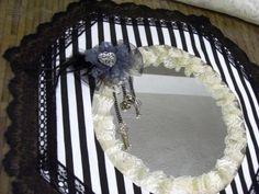 Gothic Victorian DIY wall mirror