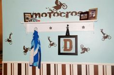 Motorcross Vinyl Decor